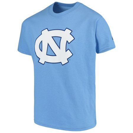 North Carolina Tar Heels Russell Youth Oversized Graphic Crew Neck T-Shirt - Light Blue