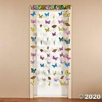 Paper Butterfly Hanging Door Curtain