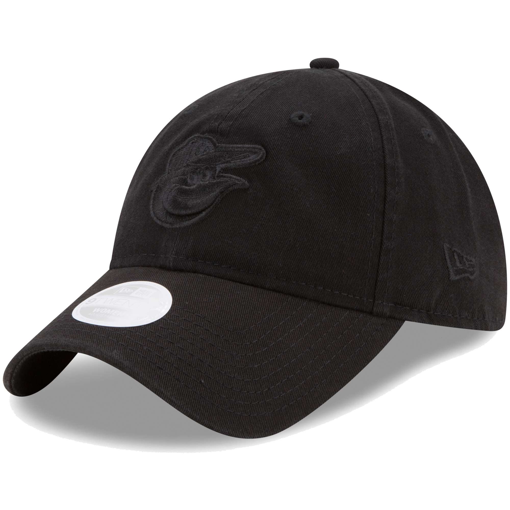 Baltimore Orioles New Era Women's Preferred Pick Tonal 9TWENTY Adjustable Hat - Black - OSFA