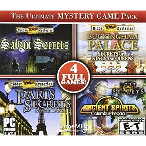 The Ultimate Mystery Game Pack