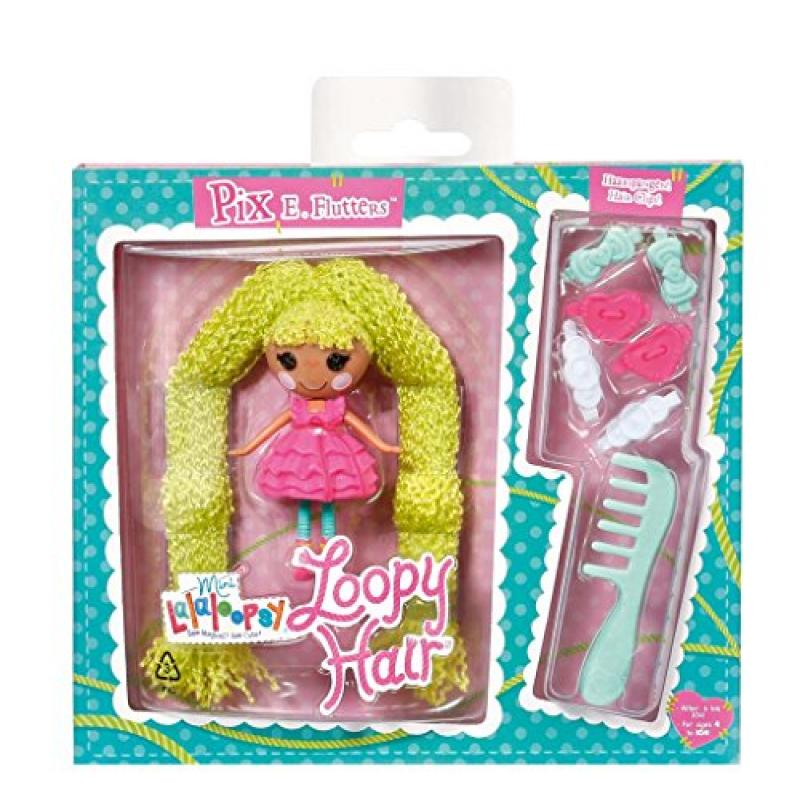 Lalaloopsy Mini Loopy Hair Pix E. Flutters Doll