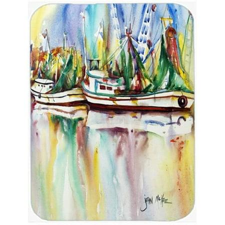 Ocean Springs Shrimp Boats Mouse Pad, Hot Pad & Trivet