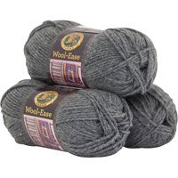 Lion Brand Yarn Wool Ease 3-Pack Classic Yarn Wool Yarn