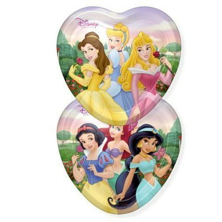 Disney Christmas Plate - Disney Princess 'Vintage Fairy-Tale Friends' Large Paper Plates (8ct)