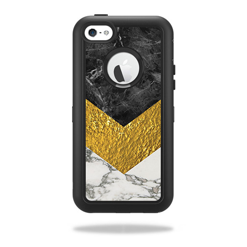 Skin For OtterBox Defender iPhone 5C Case – Modern Marble | MightySkins Protective, Durable, and Unique Vinyl Decal wrap cover | Easy To Apply, Remove, and Change Styles | Made in the USA