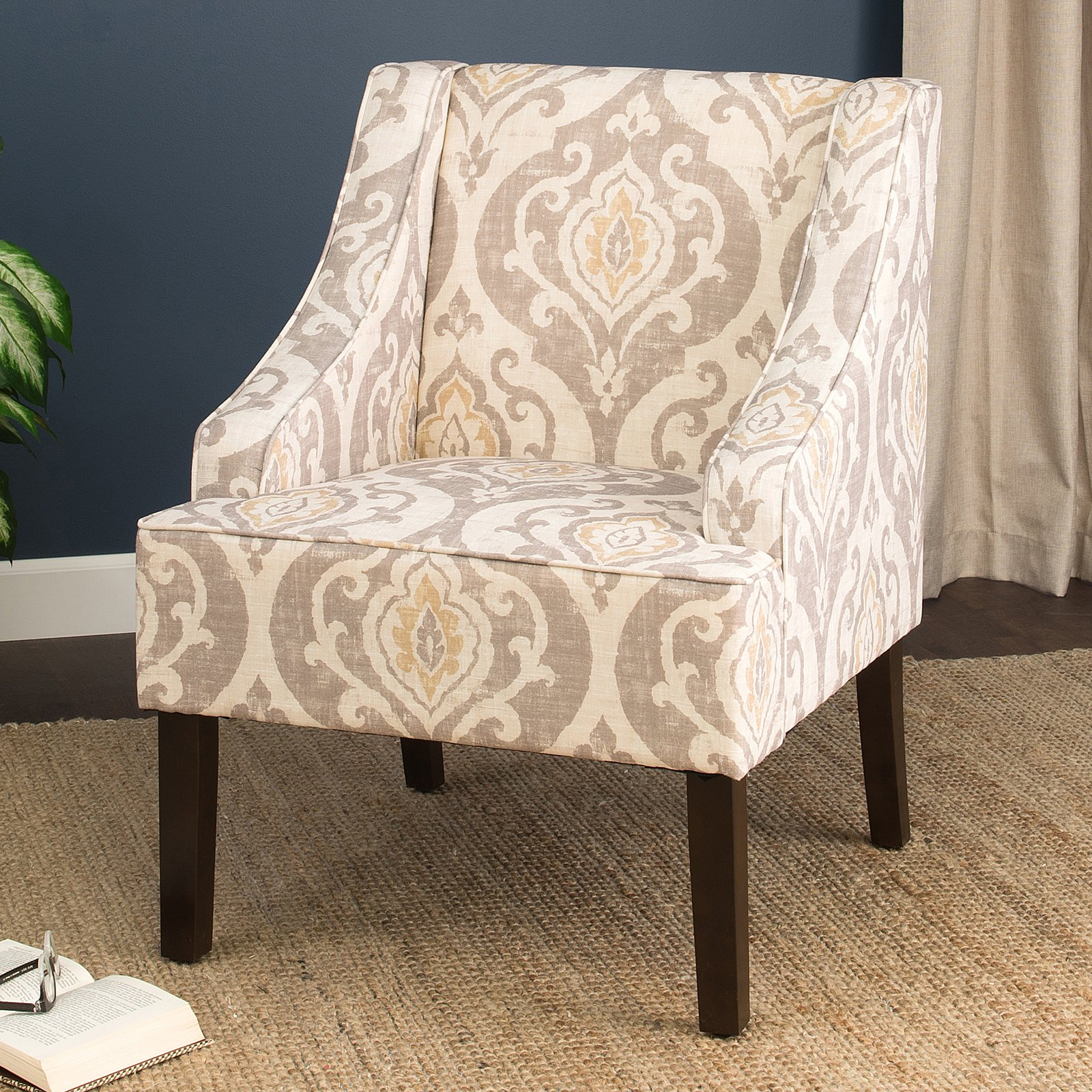 HomePop Suri Swoop Arm Accent Chair