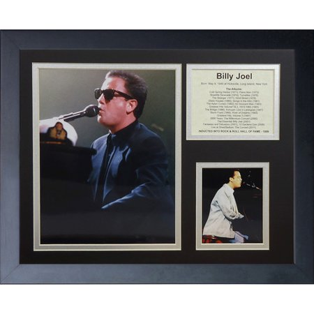 Legends Never Die Billy Joel Framed Memorabilia