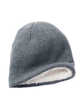 b3b8613ef2b1b Product Image Apt. 9 Men Solid Waffle Knit Beanie Hat White Faux Fur One  Size