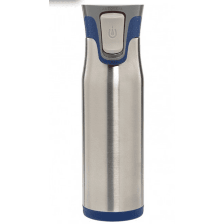 20 OZ. HIGHLAND AUTOSEAL® STAINLESS TRAVEL MUG BLUE