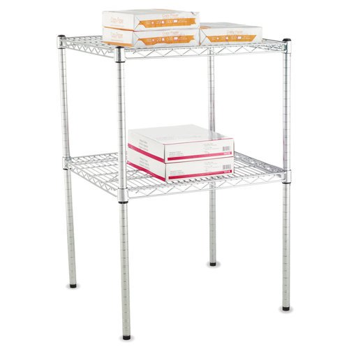 Alera Stackable Posts For Wire Shelving, 4-Pack, Available in ...