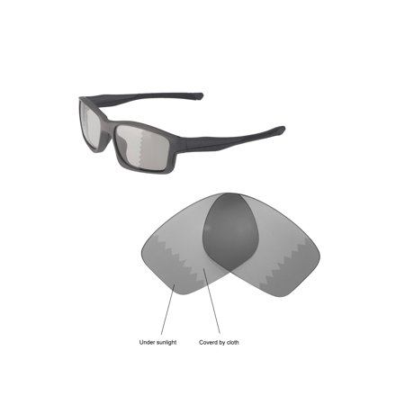 f64979009f9a6 Walleva Transition Photochromic Polarized Replacement Lenses for Oakley  Chainlink Sunglasses - Walmart.com