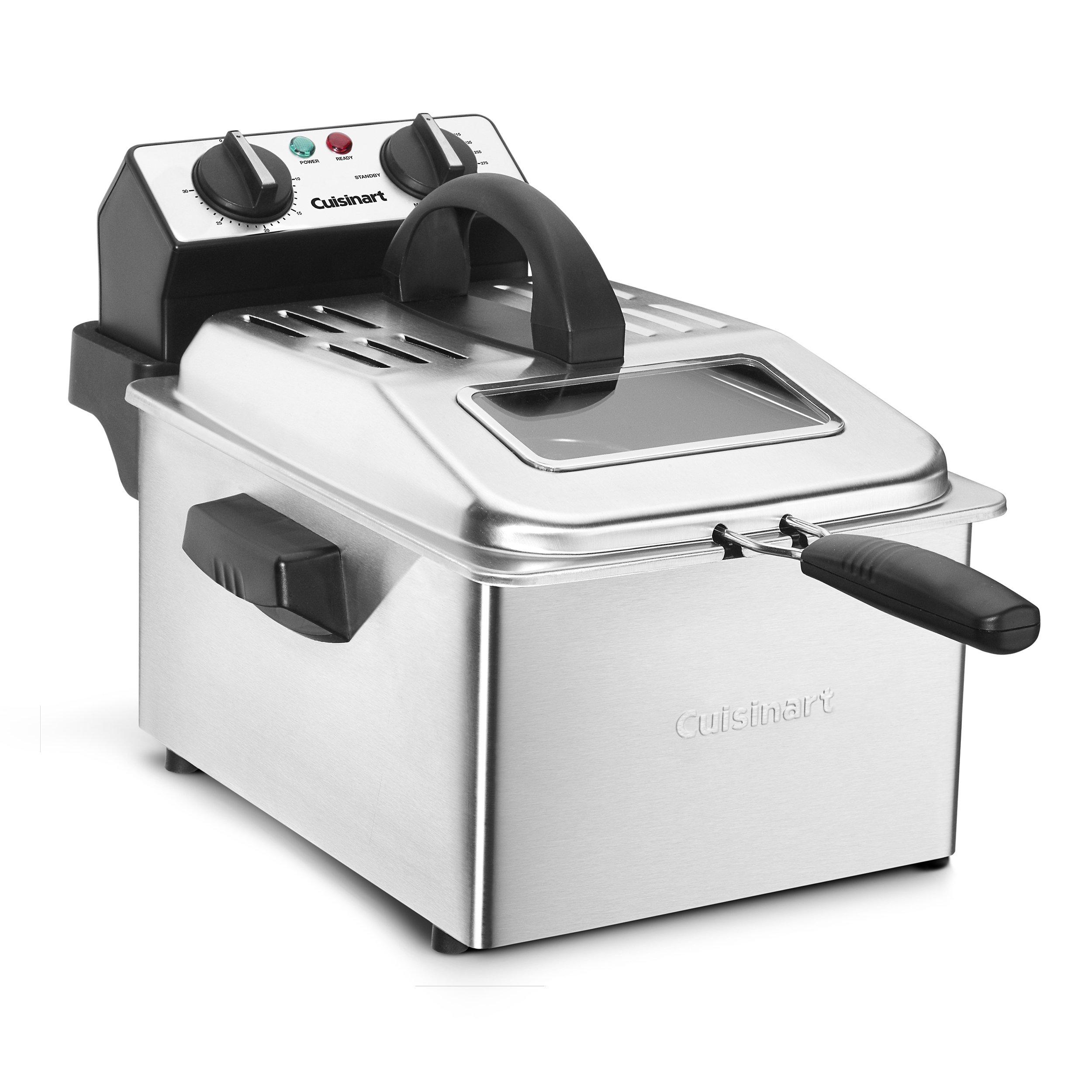 Cuisinart CDF 200 Compact 4quart Deep Fryer