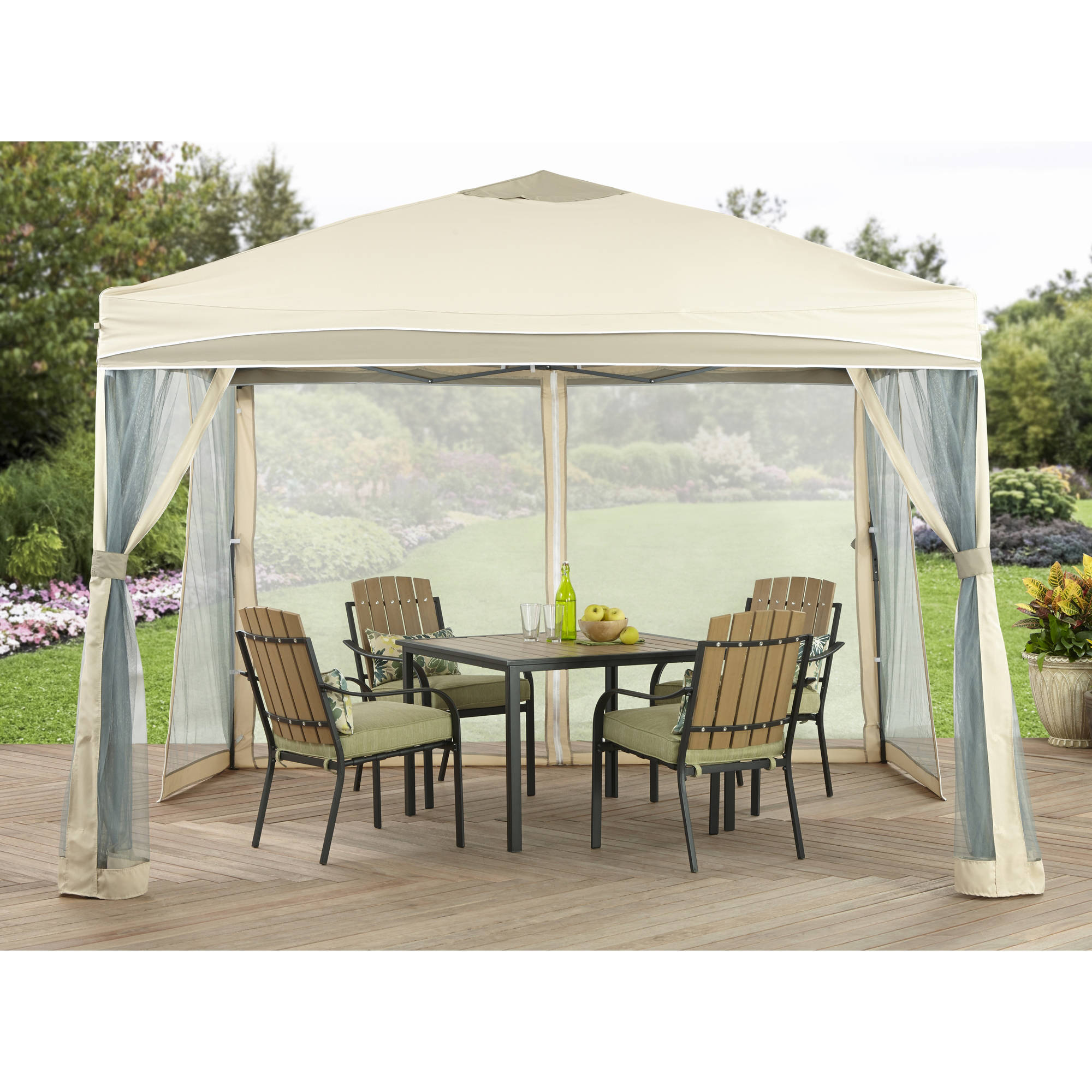 Better Homes And Gardens 10u0027 X 10u0027 Lawrence Portable Patio Gazebo