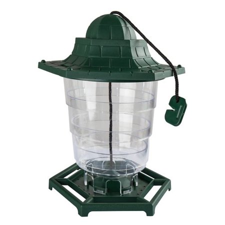 Bird Wash House - Paws & Pals Wild Squirrel Proof - Outdoor Hanging Seed House - Single Port, 3-Port, 6-Port Tube Bird Feeder