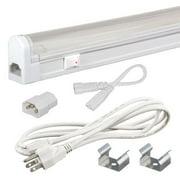 Jesco Lighting SG4-CPS-20-30-W Sleek Plus Under Cabinet Kit 20W 3000K with Switc