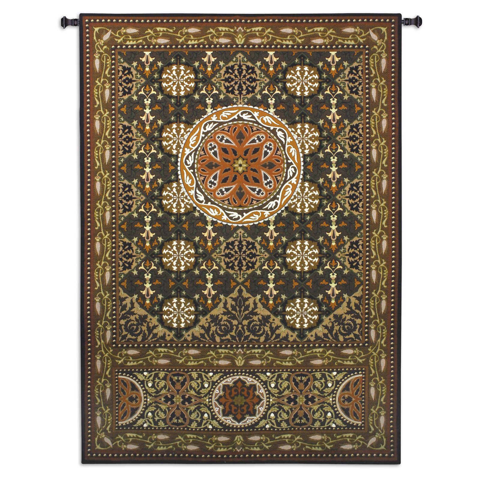 Fine Art Tapestries Gothic Medallion Wall Tapestry by Supplier Generic
