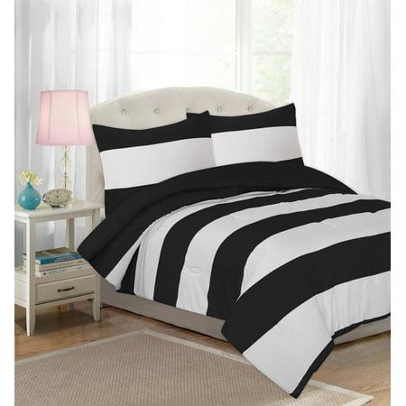 Shower Cabana - Your Zone Cabana Stripe Comforter Set