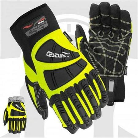 Cestus 5056 2XL Temp Series Deep Grip Winter Insulated One Pair Glove - 2 Extra Large