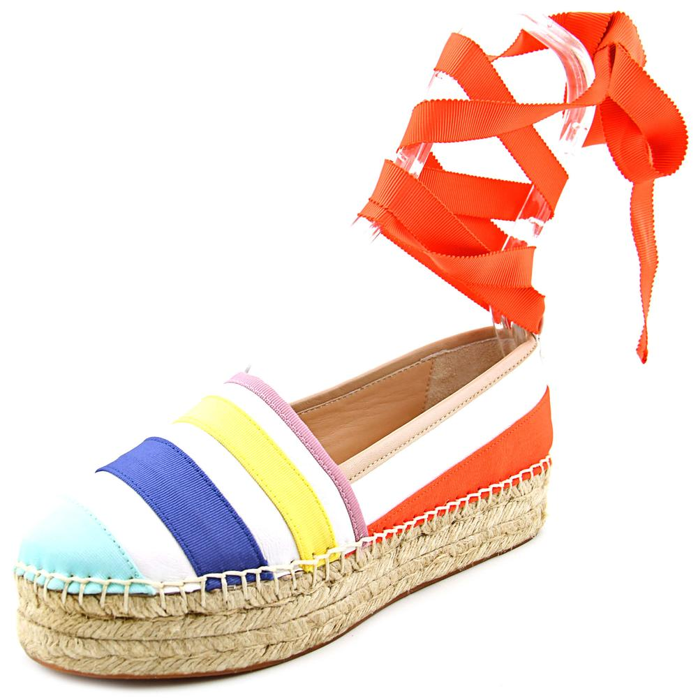 Kate Spade Leena Round Toe Leather Espadrille by kate spade
