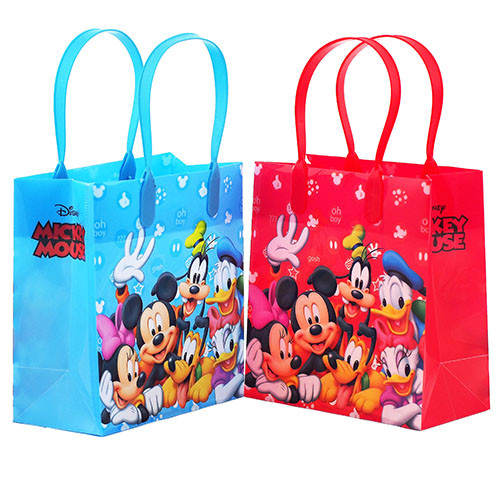 Mickey Mouse and Friends Character 12 Premium Quality Party Favor Reusable Goodie Small Gift Bags