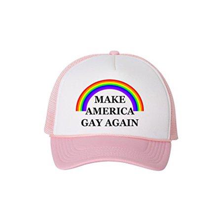 2672eee4c Rogue River Tactical Funny Trucker Hat Make America Gay Again ...