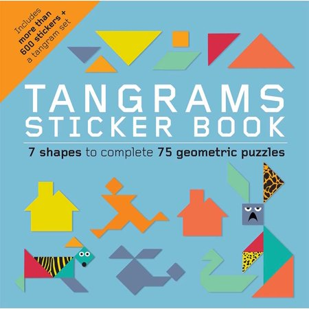 Tangrams Sticker Book - Halloween Tangrams Printables