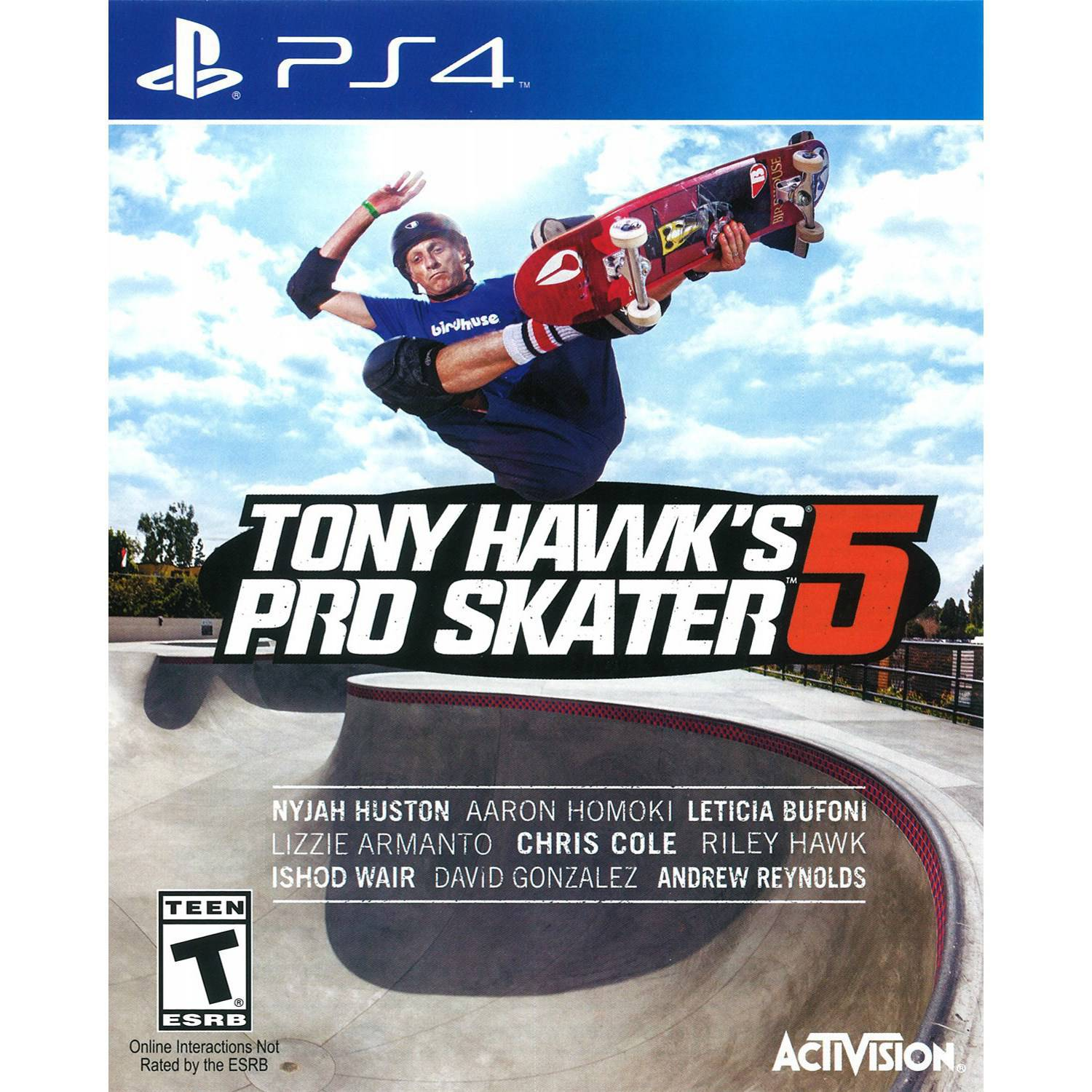 Tony Hawk Pro Skater 5 (PS4) - Pre-Owned
