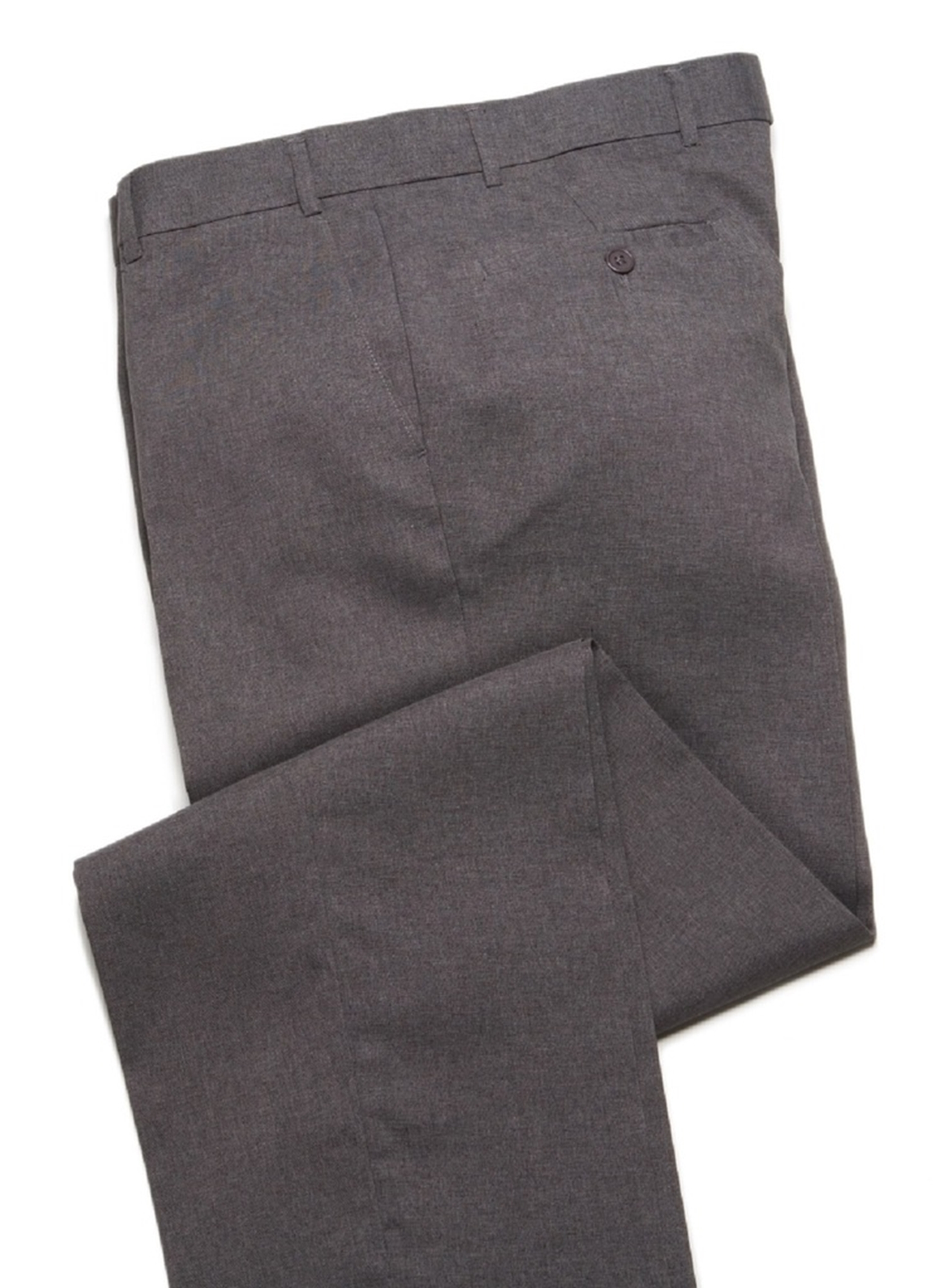 Breeches & Frock Wrinkle Resistant Mens Dress Pant Slack - Flat Front