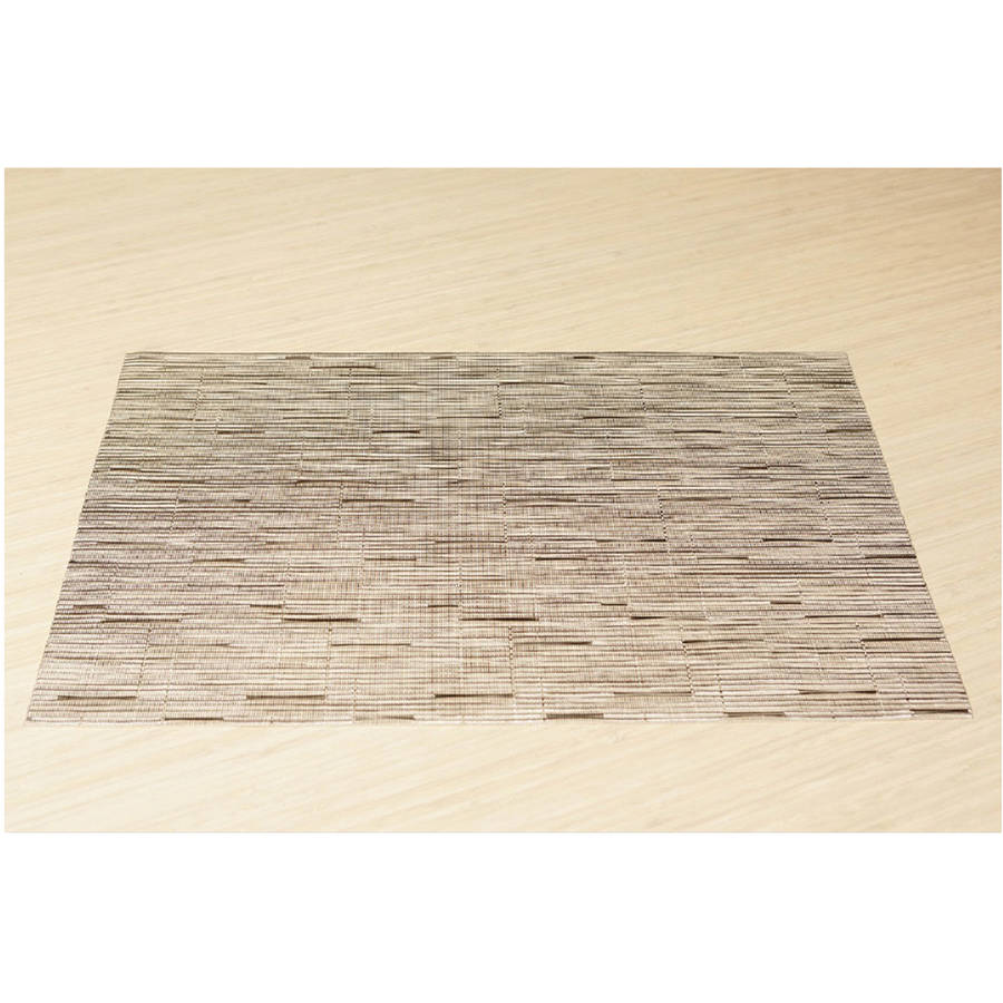 Office Settings Oatmeal Placemats, 12 count