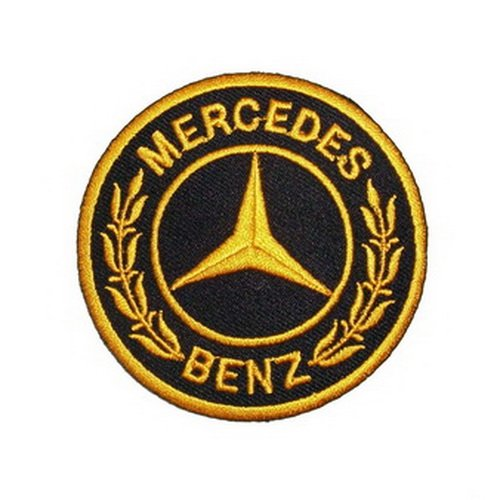 Mercedes Benz Logo 6.5 Logo Sew Ironed On Badge Embroidery Applique Patch