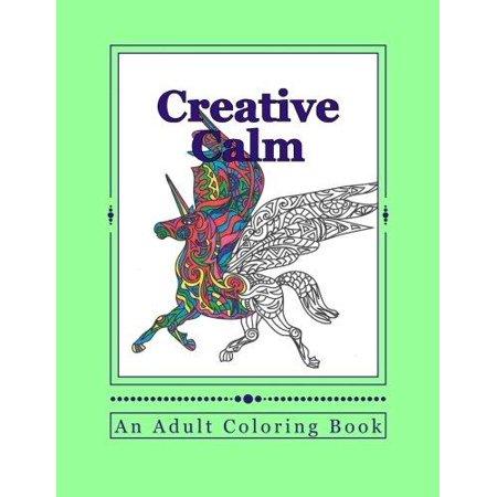 Creative Calm A Relaxing Color Therapy Book Walmart Com