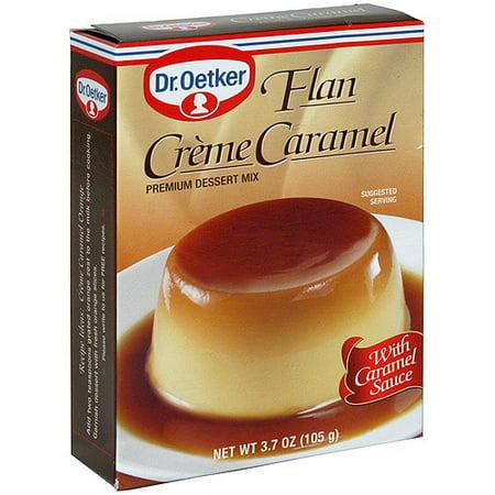 Oetker Creme (Dr. Oetker Creme Caramel Flan, 3.7 oz (Pack of 12) )