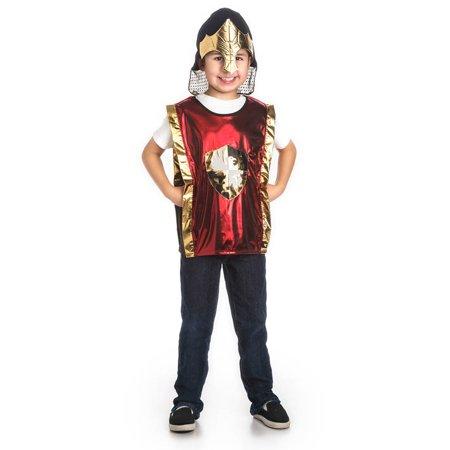 Red Knight & Gold Helmet Set