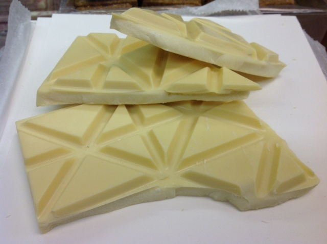Asher's Break-Up Scored Solid White Chocolate Candy 1 pound by Asher's Chocolates - Souderton, Pennsylvania