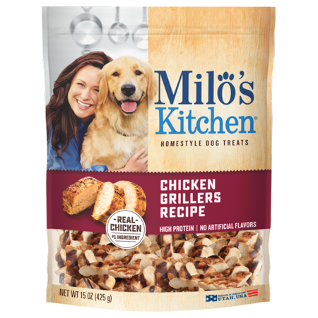 Milo's Kitchen Chicken Grillers Recipe Dog Treats, 15-Ounce Bag - Halloween Treat Recipes Uk