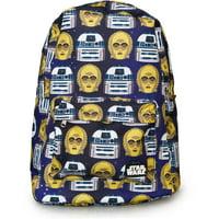 x Star Wars R2D2 & C3PO Backpack