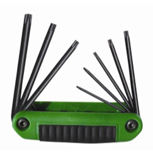 Eklind 25570 7 Piece Ergo-Fold Tamper Proof Torx Key Set