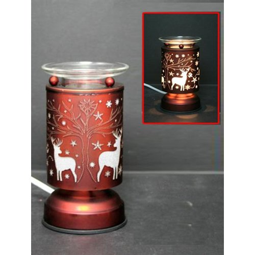 The Holiday Aisle Duren Deer Touch 7'' Table Lamp