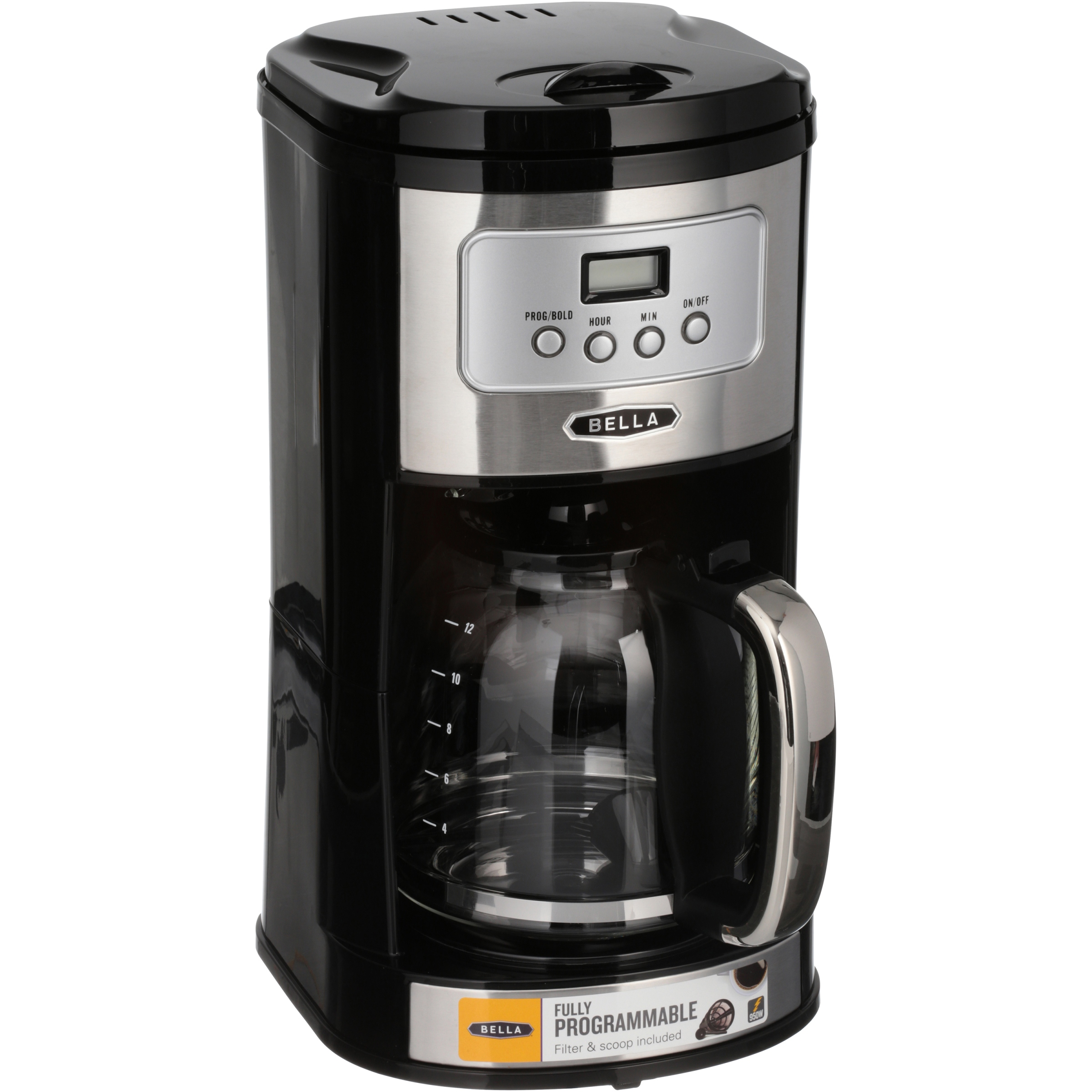 Exceptionnel Bella® 12 Cup Programmable Coffee Maker