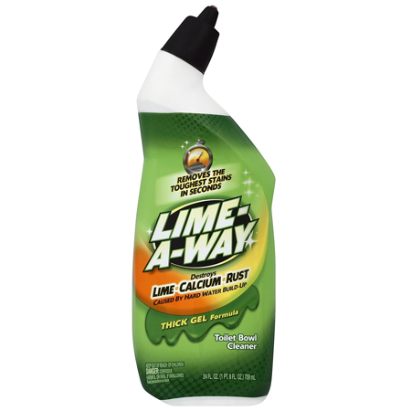 Lime-A-Way Liquid Toilet Bowl Cleaner, 24oz Bottle, Removes Lime Calcium (Best Natural Toilet Cleaner)