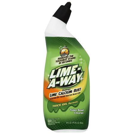 Lime A Way Liquid Toilet Bowl Cleaner 24oz Bottle