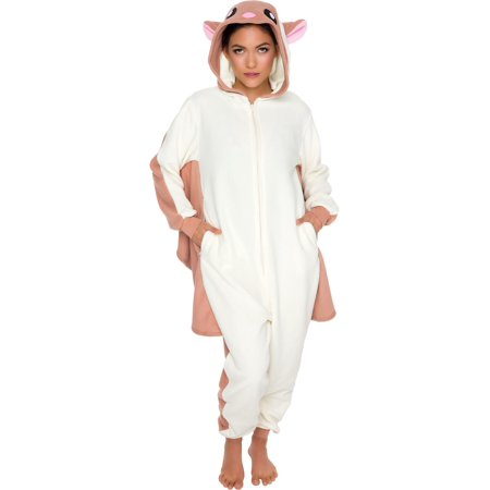 Silver Lilly Adult Slim Fit One Piece Cosplay Flying Squirrel Animal Pajamas