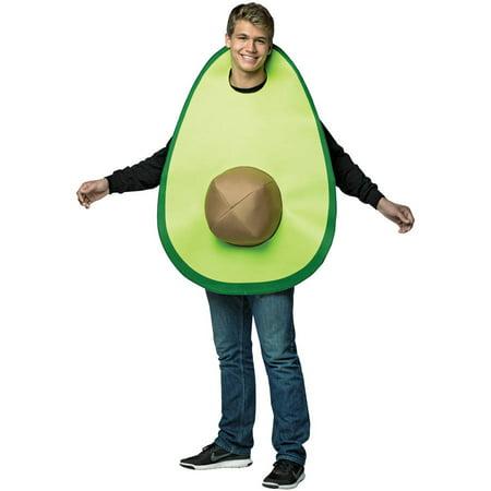 Avocado Men's Adult Halloween Costume, One Size, (40-46)