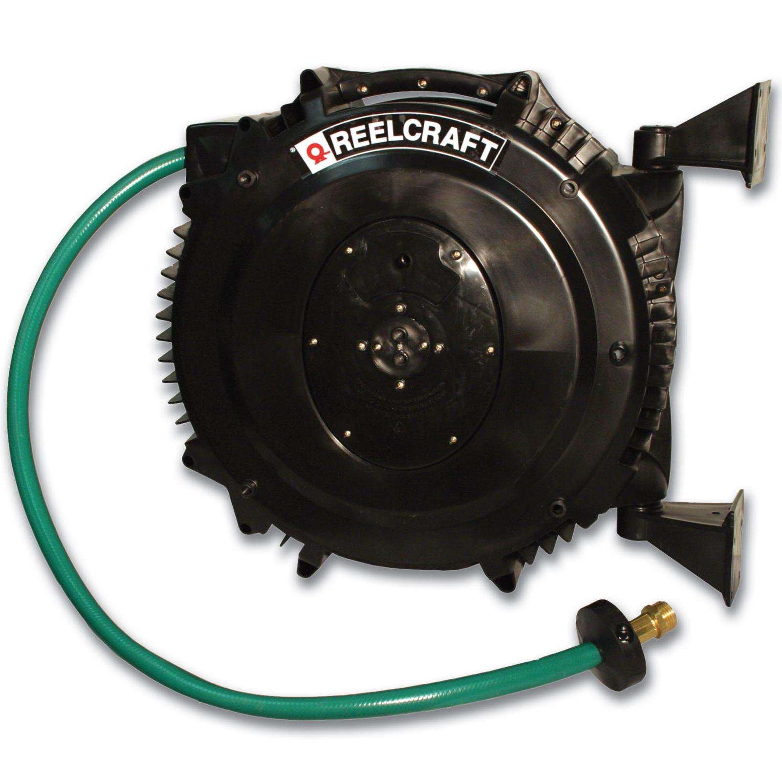 ReelCraft Contractor Grade Water Hose Reel with PVC Hose by Hose Reels