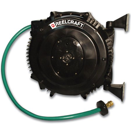 Reelcraft Contractor Grade Water Hose Reel With Pvc Hose