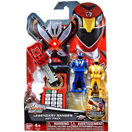 Power Rangers Super Megaforce Legendary Ranger Key Pack Roleplay Toy [RPM]