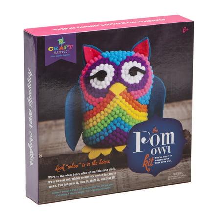 Ann Williams Group Craft-tastic Pom Owl Kit](Owl Poem)