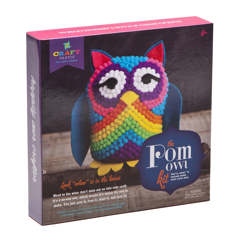 Ann Williams Group Craft-tastic Pom Owl Kit