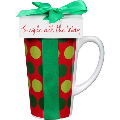 Scm Designs Stripe/polka Dot Mug 2.0 Oz