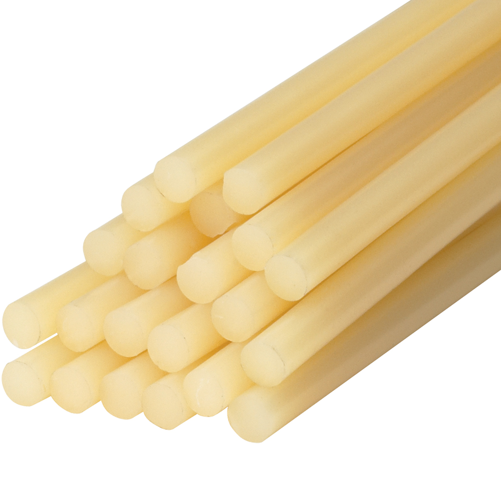 "Box Partners Glue Sticks 1/2"" x 15"" Light Amber 300/Case GL4040"
